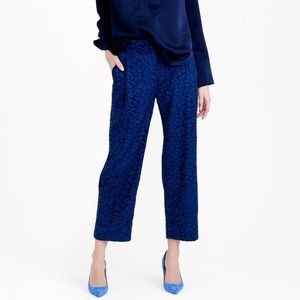J Crew Collection Cropped Pants in French Lace
